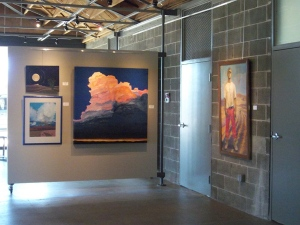 """August Afternoon"" at the Borrego Art Institute Gallery."