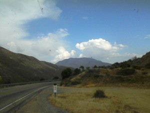 The thunderhead from the Banner Pass.