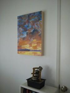 """Sea Crest Dawn #33, 24x18"""", $540."""