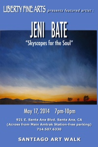 Skyscapes for the Soul at Liberty Fine Arts