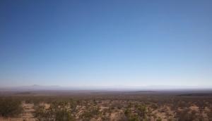 The spacious Mojave Desert