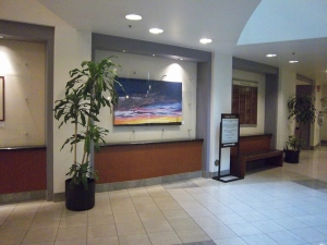 """""""Painted Dawn"""" at Riverside County Admin Building"""