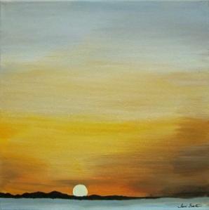 Dawn at the end of an era.