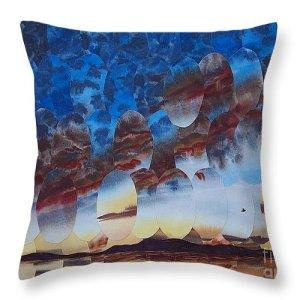 Velvet Virga on a pillow