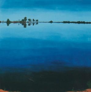 Wiest Lake painting