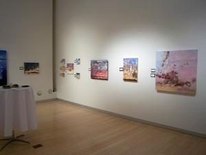 Jeni Bate Solo show at Yuma Fine Arts Center