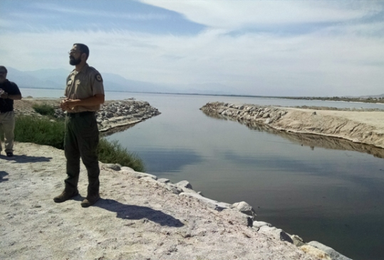 Park Ranger and Salton Sea