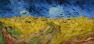 Vincent van Gogh's wheatfield