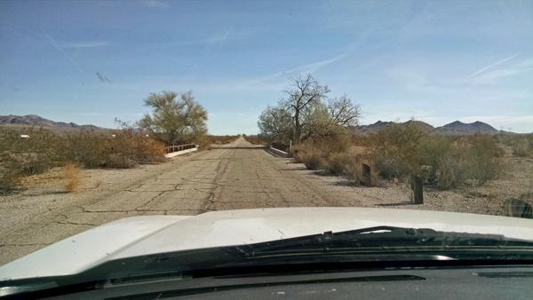 Road between Box Canyon and Chriaco Summit