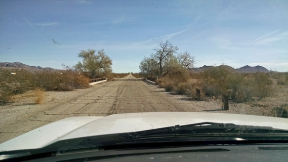 Road between Box Canyon and Chriaco Summit