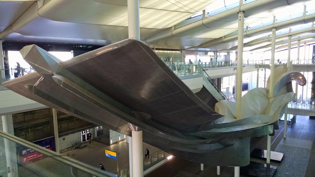 aluminum sculpture slipstream
