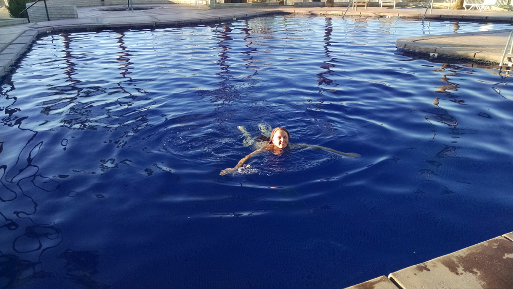jeni bate swimming