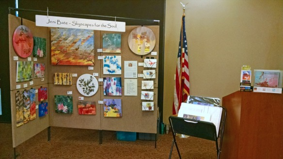 Small art booth
