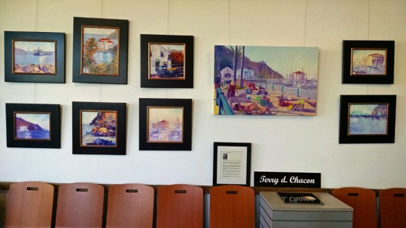 Catalina Plein Air paintings