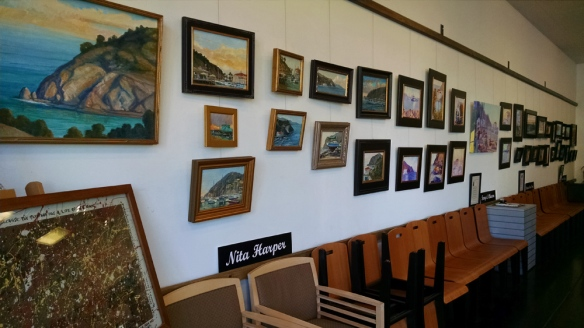 Catalina Plein Air paintings