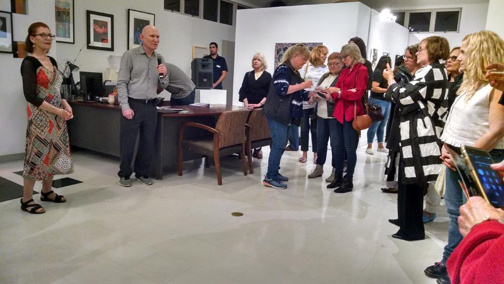 Art reception awards