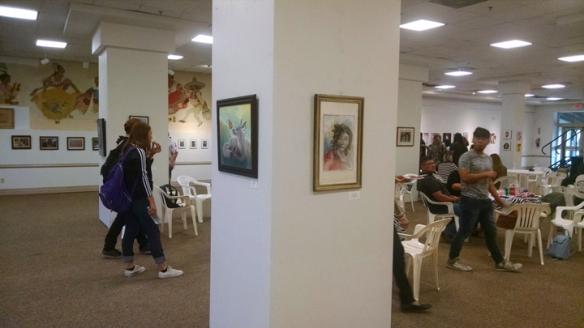 Art at Carmen Durazo Cultural Center