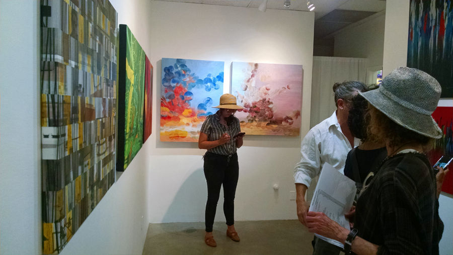 Joshua Tree Art Gallery Reception