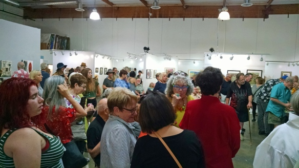 Collage Artists of America art at San Fernando Valley Art and Cultural Center