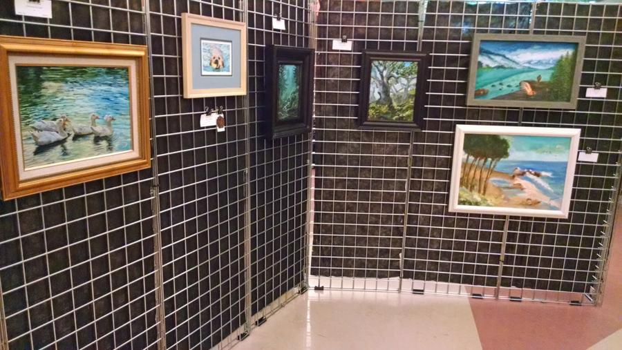 Artwork at Rancho Cucamonga Cultural Center