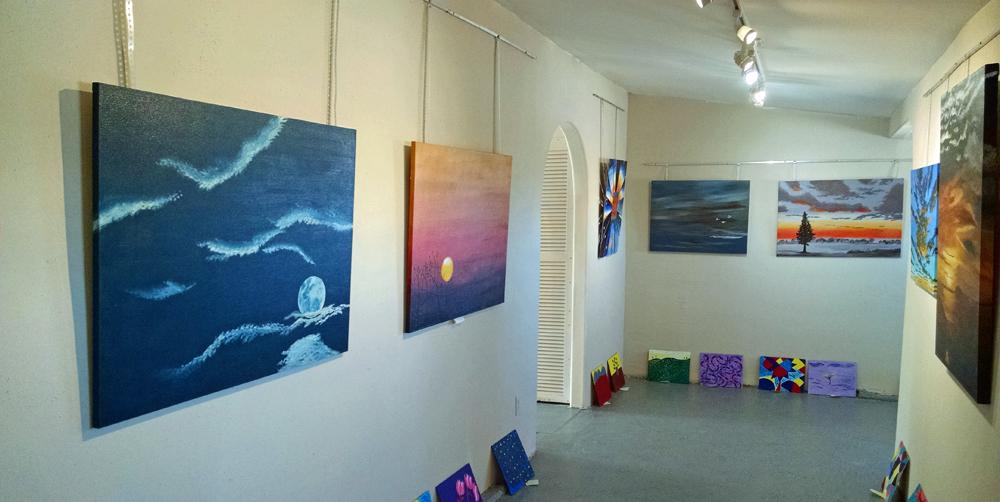 Artwork in gallery