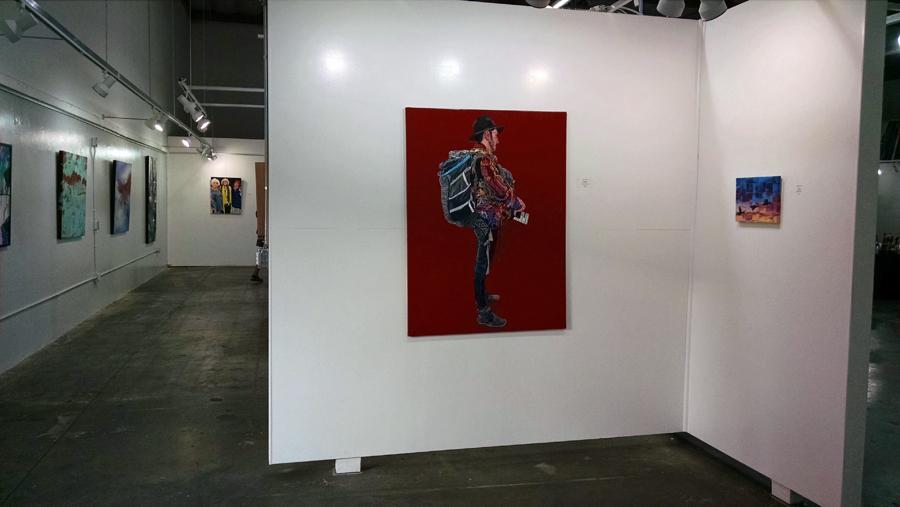 Paintings at SFVACC